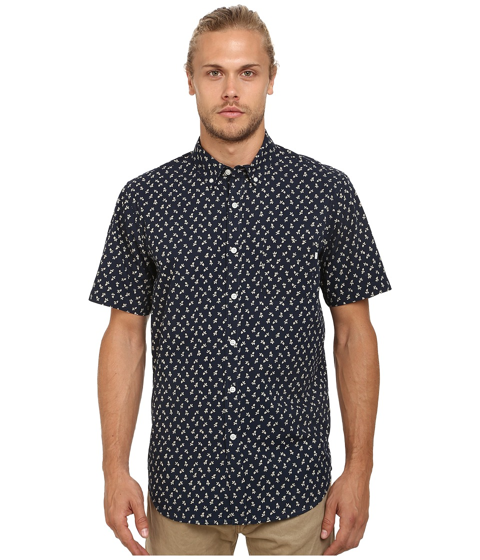 Obey - Reuss Woven (Dark Navy Multi) Men