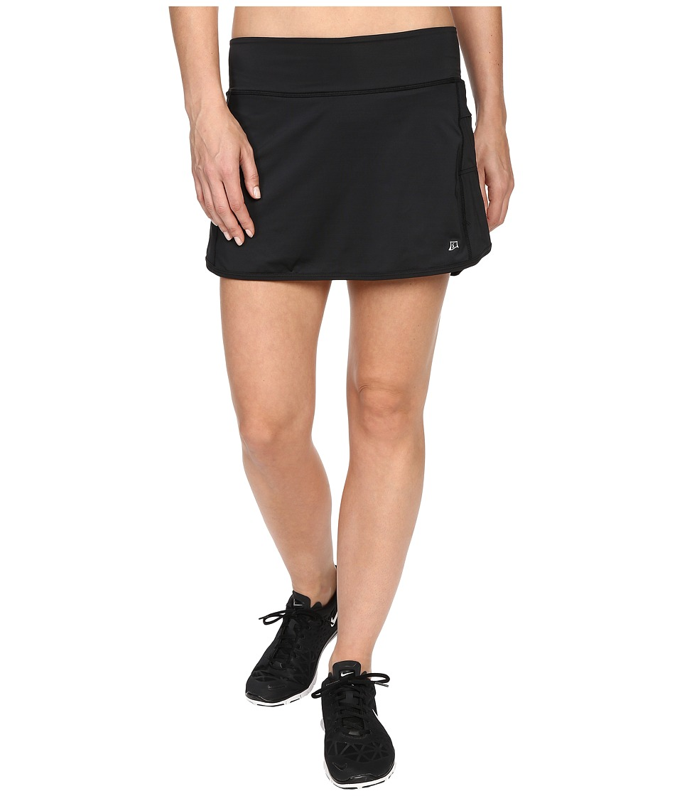 Skirt Sports - Running Skirt with Spankies (Black) Women's Skirt