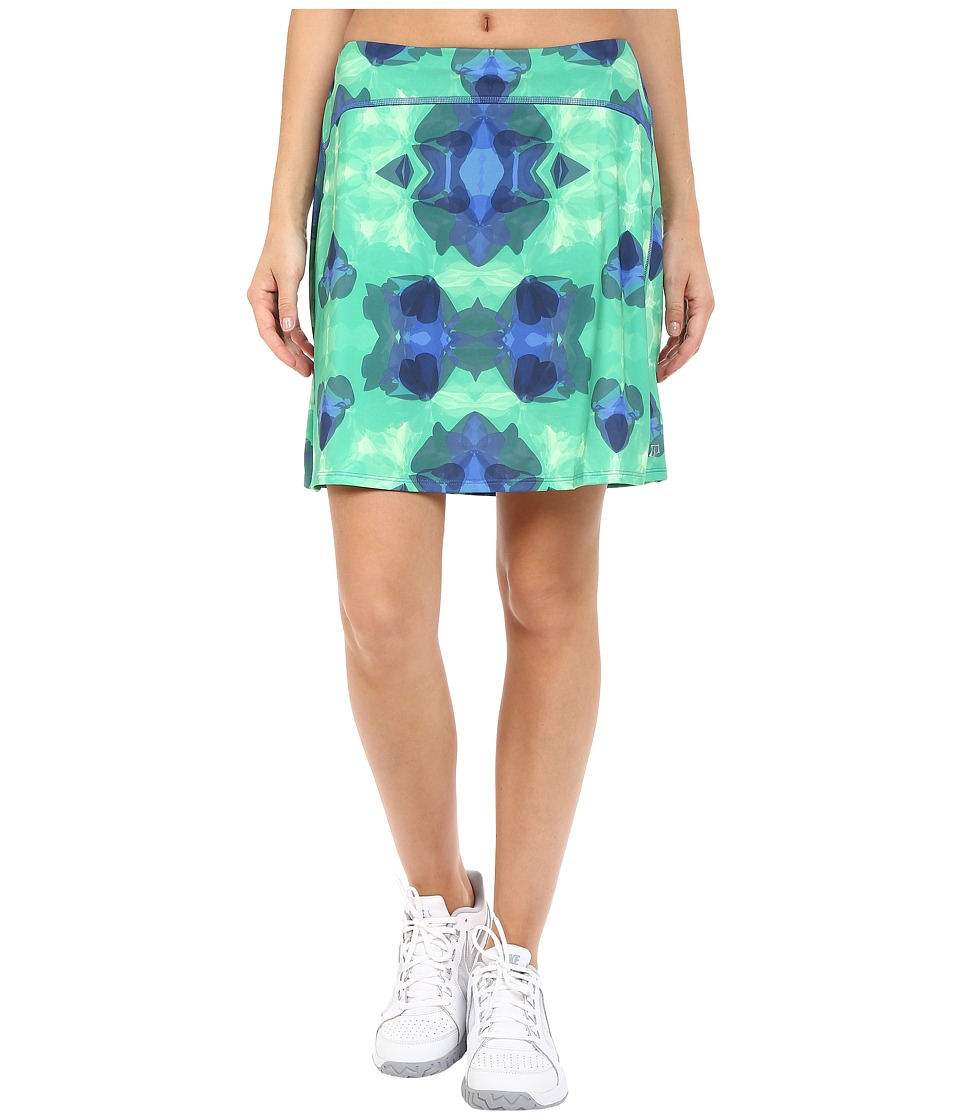 Skirt Sports - Happy Girl Skirt (Emerald City Print) Women's Skort