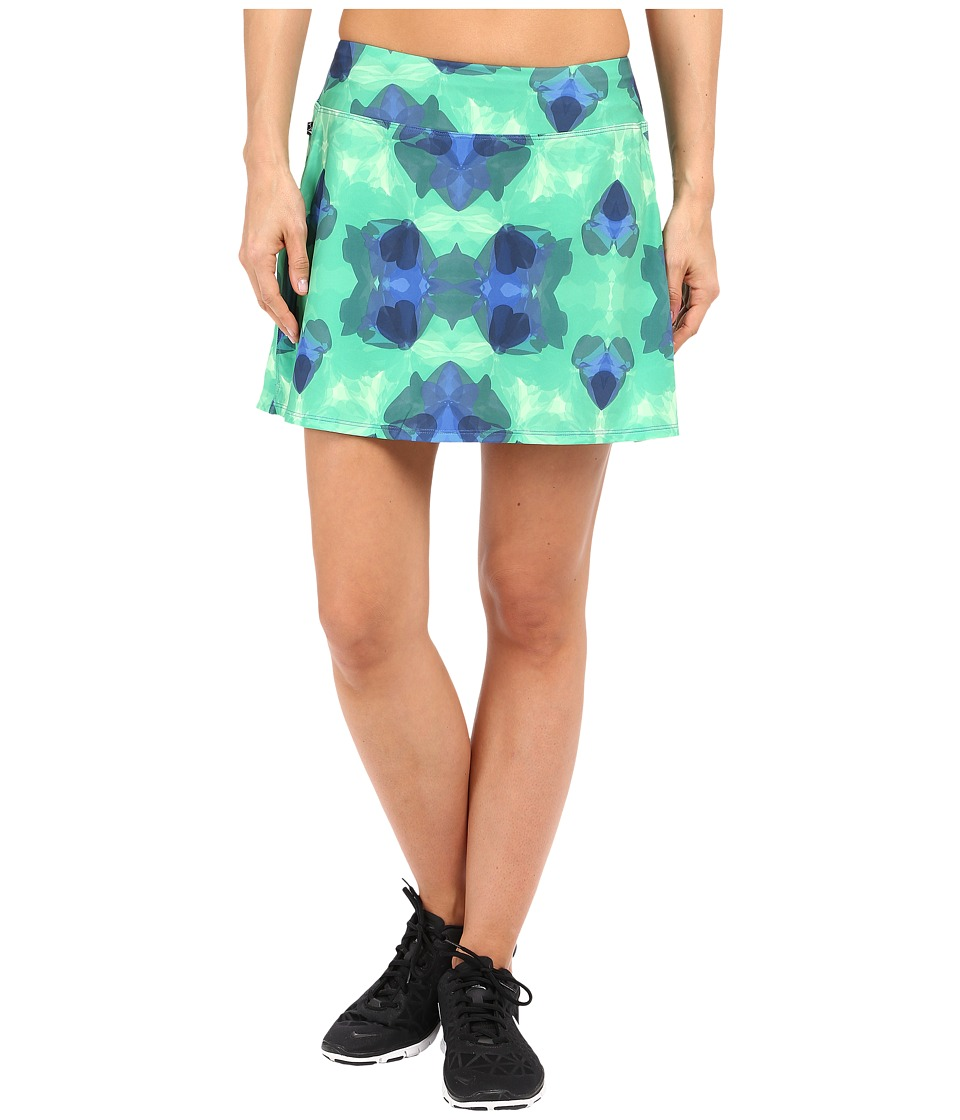 Skirt Sports - Gym Girl Ultra (Emerald City Print) Women's Skort