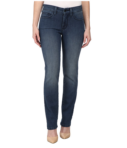 NYDJ Petite - Petite Marilyn Straight in Frankford (Frankford) Women's Jeans