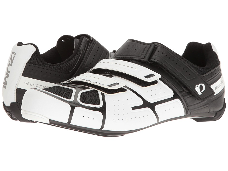Pearl Izumi - Select RD IV (White/Black) Men's Cycling Shoes