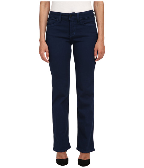 NYDJ Petite - Petite Marilyn Straight in Knight Blue (Knight Blue) Women