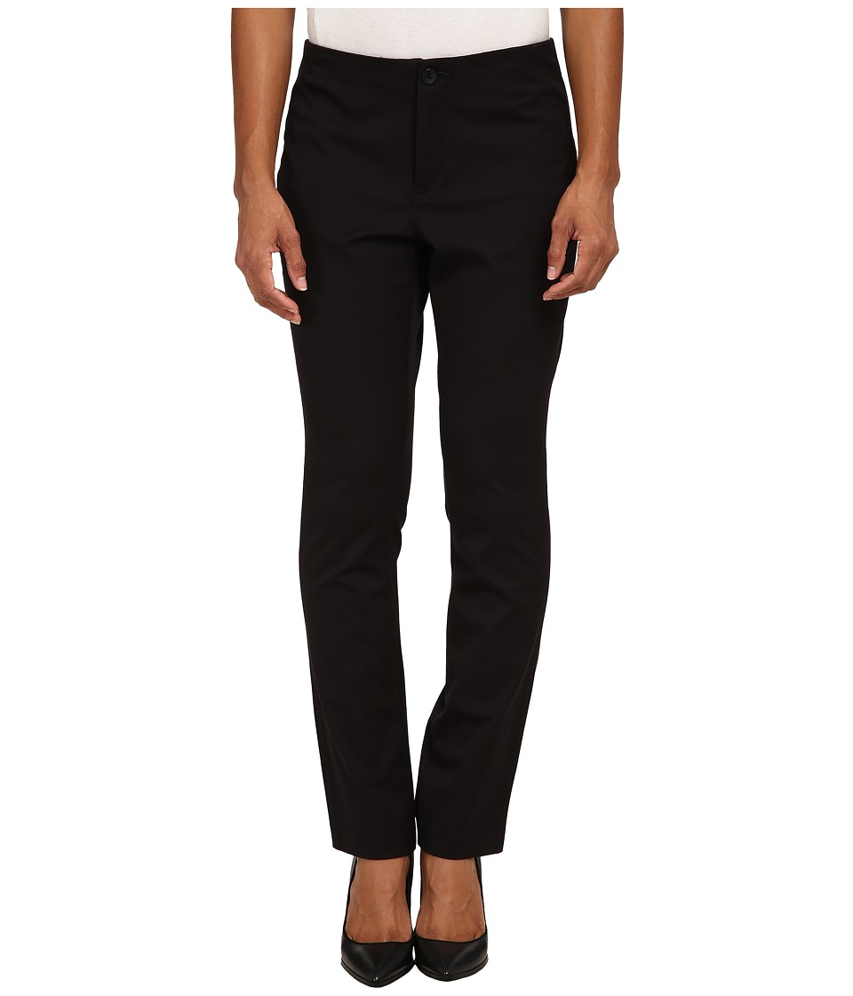 NYDJ Petite - Petite Sheri Slim Bi-Stretch in Black (Black) Women's Casual Pants