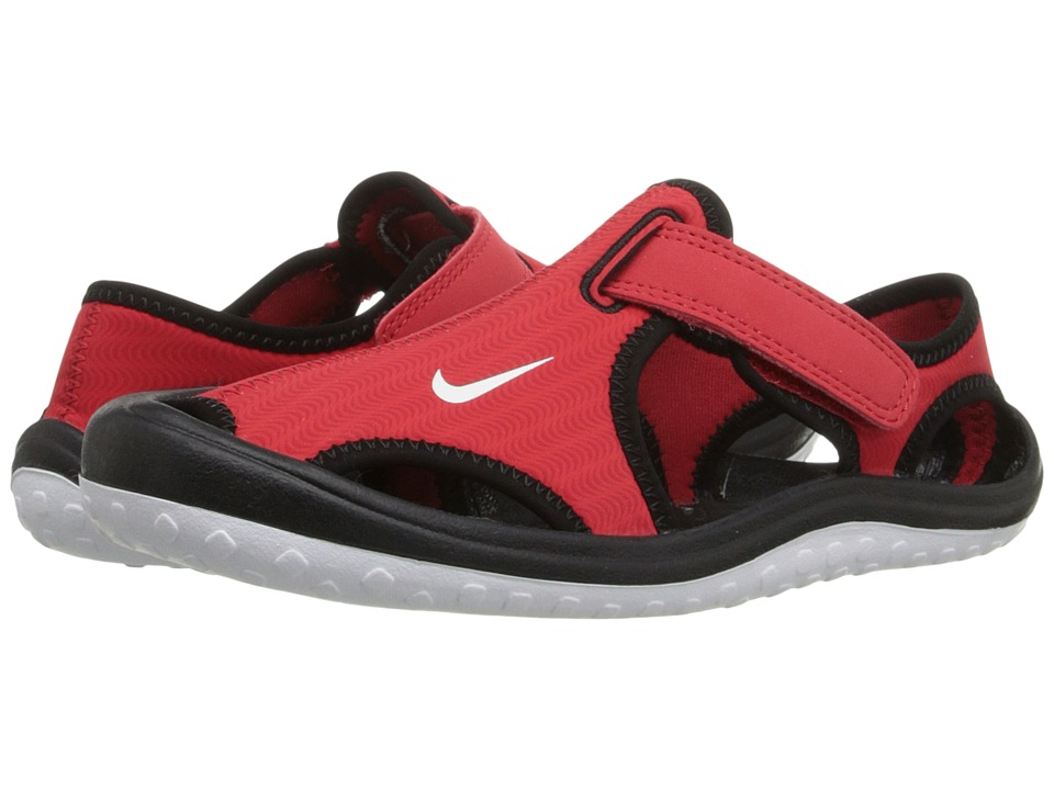Nike Kids - Sunray Protect (Little Kid) (University Red/Black/White) Boys Shoes