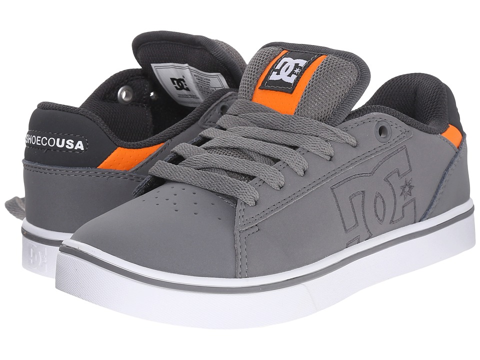 DC Kids - Notch (Big Kid) (Grey) Boys Shoes