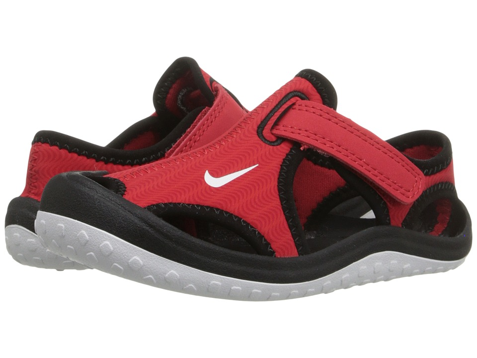 Nike Kids - Sunray Protect (Infant/Toddler) (University Red/Black/White) Boys Shoes