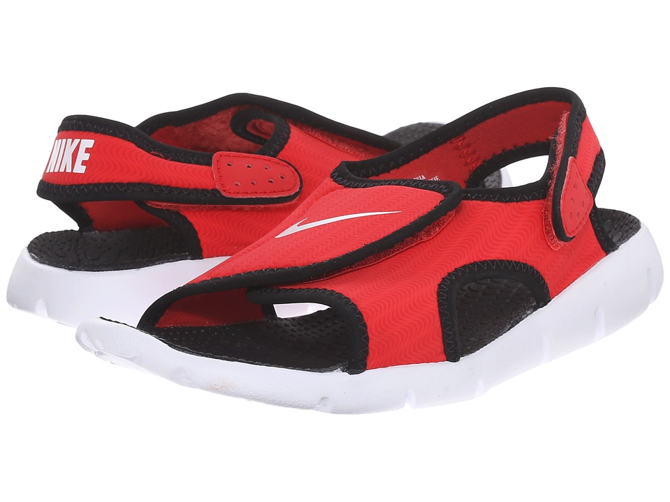 Nike Kids - Sunray Adjust 4 (Little Kid/Big Kid) (University Red/Black/White) Boys Shoes
