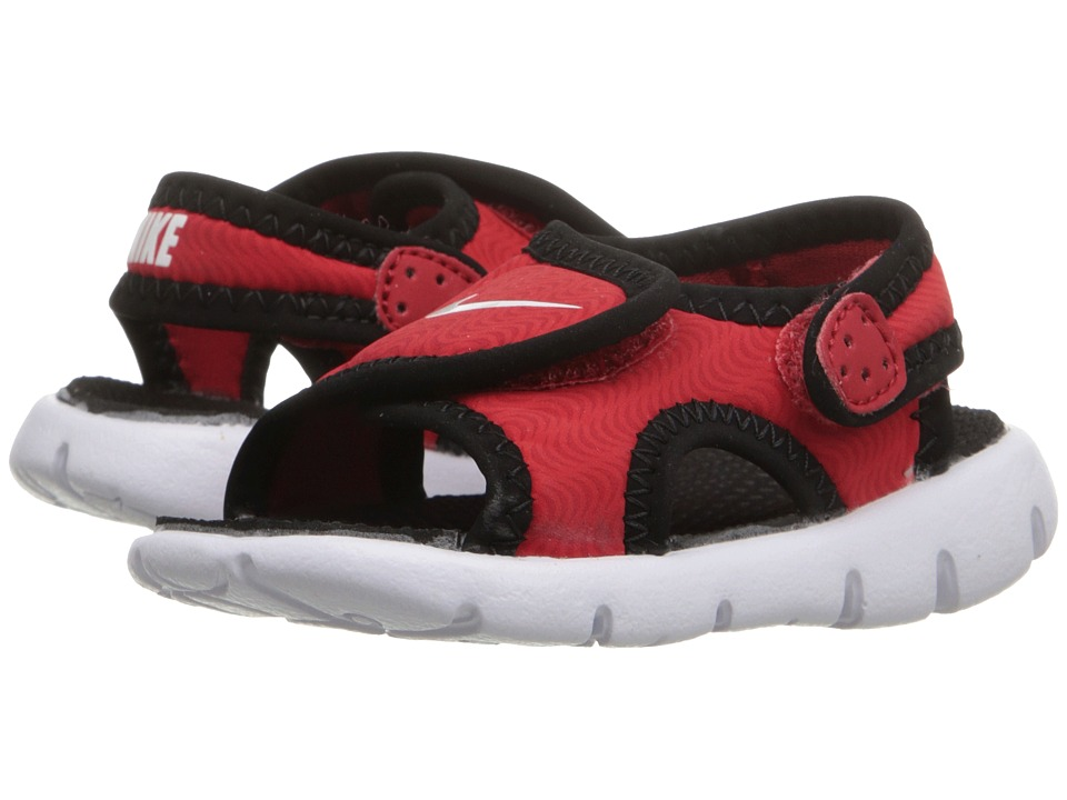 Nike Kids - Sunray Adjust 4 (Infant/Toddler) (University Red/Black/White) Kids Shoes