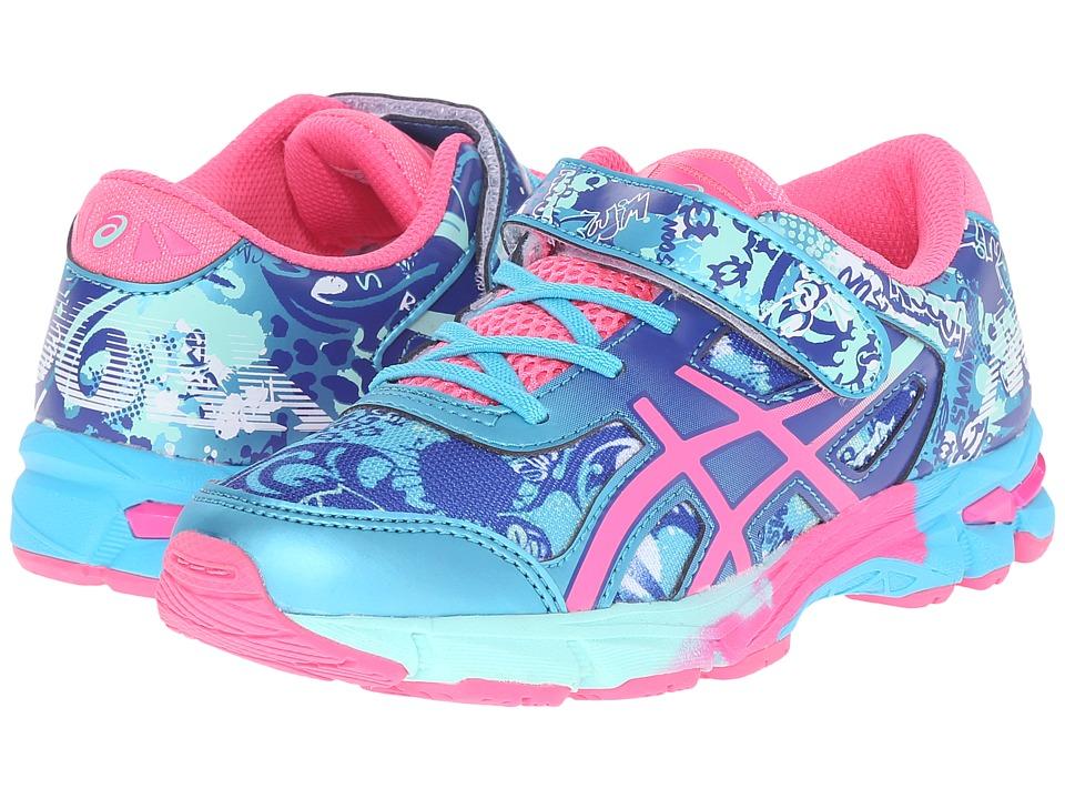 ASICS Kids - Gel-Noosa Tri 11 PS (Toddler/Little Kid) (Turquoise/Hot Pink/ASICS Blue) Girls Shoes