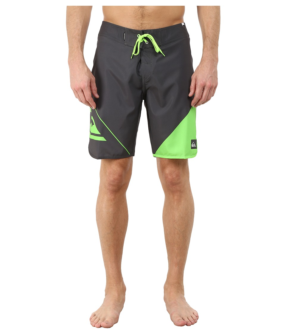 Quiksilver - New Wave 20 Boardshorts (Dark Shadow) Men's Swimwear