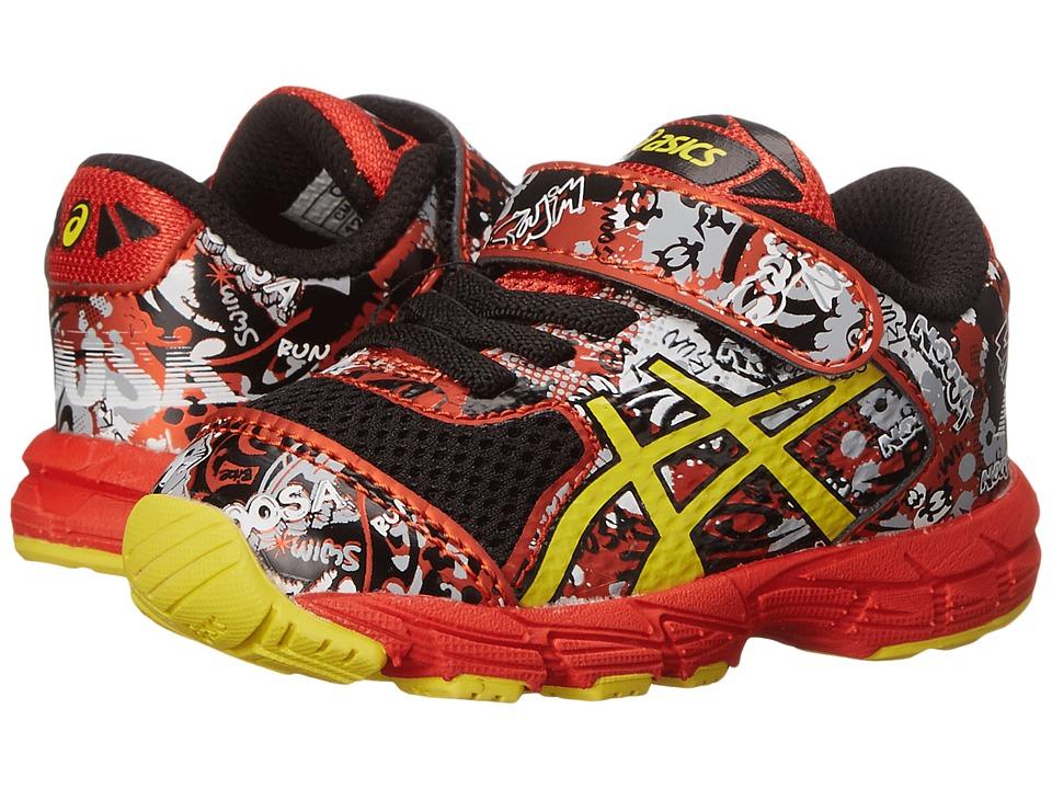 ASICS Kids - Noosa Tri 11 TS (Toddler) (Black/Sun/Orange) Boys Shoes