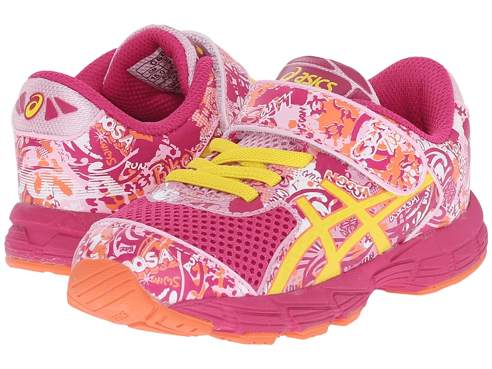 ASICS Kids - Noosa Tri 11 TS (Toddler) (Berry/Sun/Cotton Candy) Girls Shoes