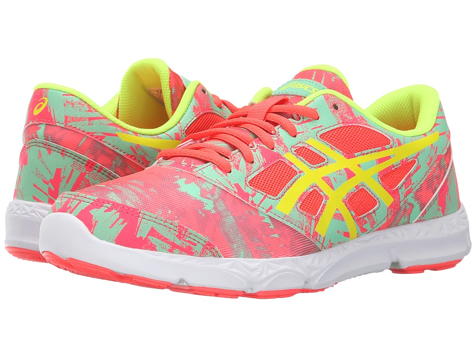 ASICS Kids - 33-DFA 2 GS (Little Kid/Big Kid) (Diva Pink/Flash Yellow/Spring Bud) Girls Shoes