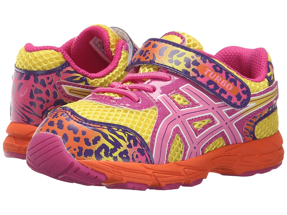 ASICS Kids - Turbo TS (Toddler) (Sun/Flamingo/Berry) Girls Shoes
