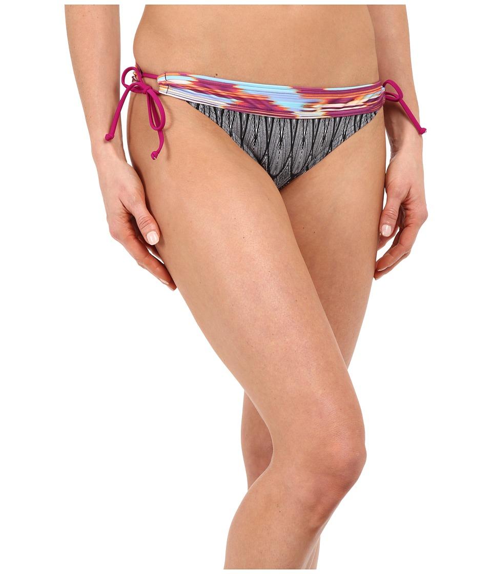 Prana - Saba Bottom (Black Feather) Women's Swimwear