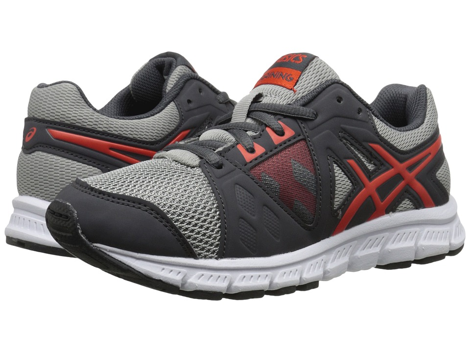 ASICS Kids Gel-Craze TR 3 GS (Little Kid/Big Kid) (Dark Grey/Orange/Black) Boys Shoes