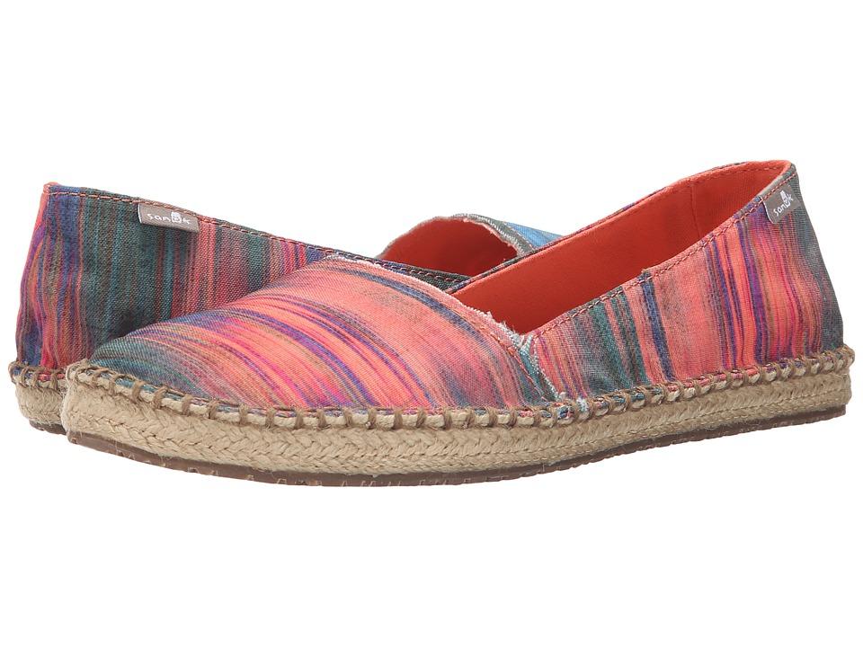 Sanuk - Natal (Multi/Ikat) Women's Flat Shoes