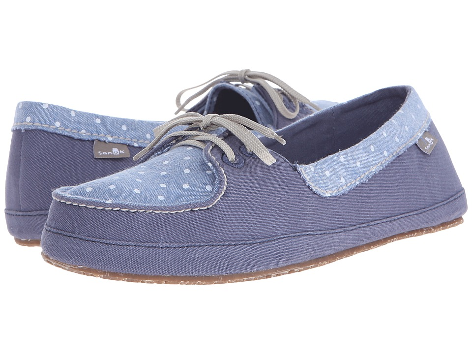 Sanuk - Drop It Like Its Yacht (Slate Blue) Women's Flat Shoes