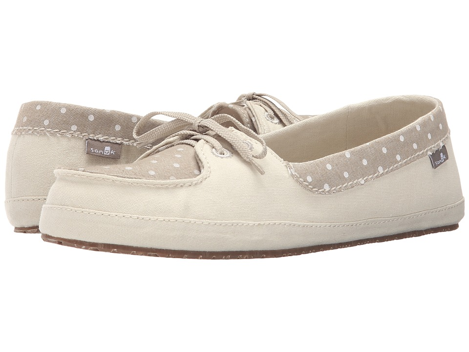 Sanuk - Drop It Like Its Yacht (Ivory) Women's Flat Shoes
