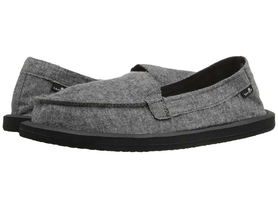 Sanuk - Shorty TX (Charcoal Chambray) Women's Flat Shoes