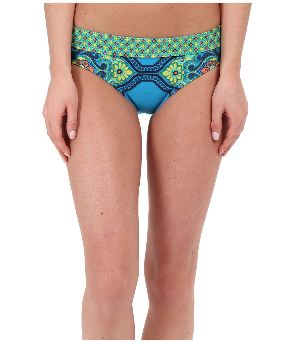 Prana - Ramba Bottom (Vivid Blue Jasmine) Women's Swimwear
