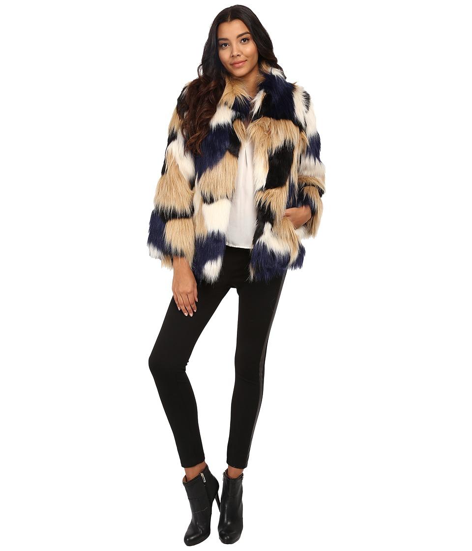 Trina Turk - Makayla (Patchwork) Women's Coat
