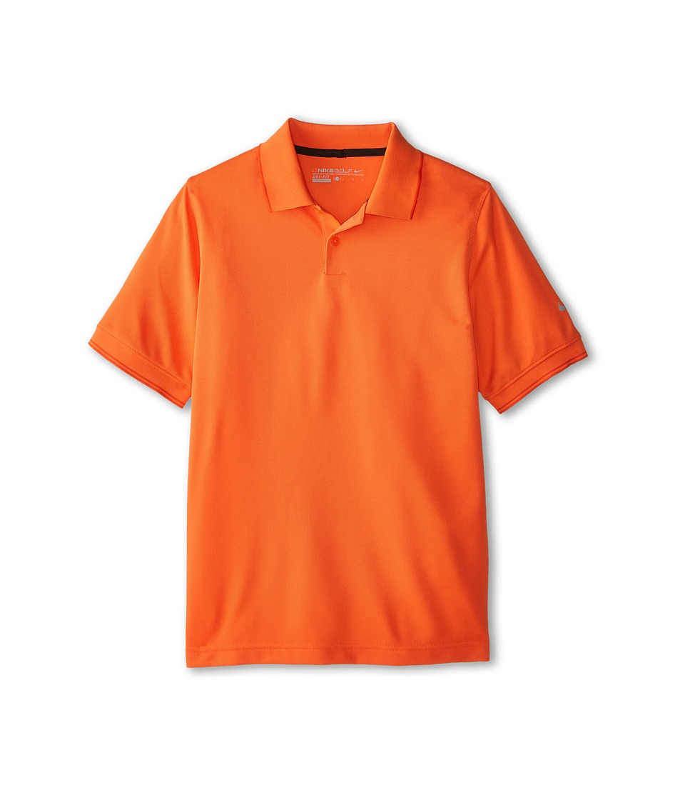 Nike Kids - Radar Polo (Little Kids/Big Kids) (Electro Orange/Wolf Grey) Boy's Clothing