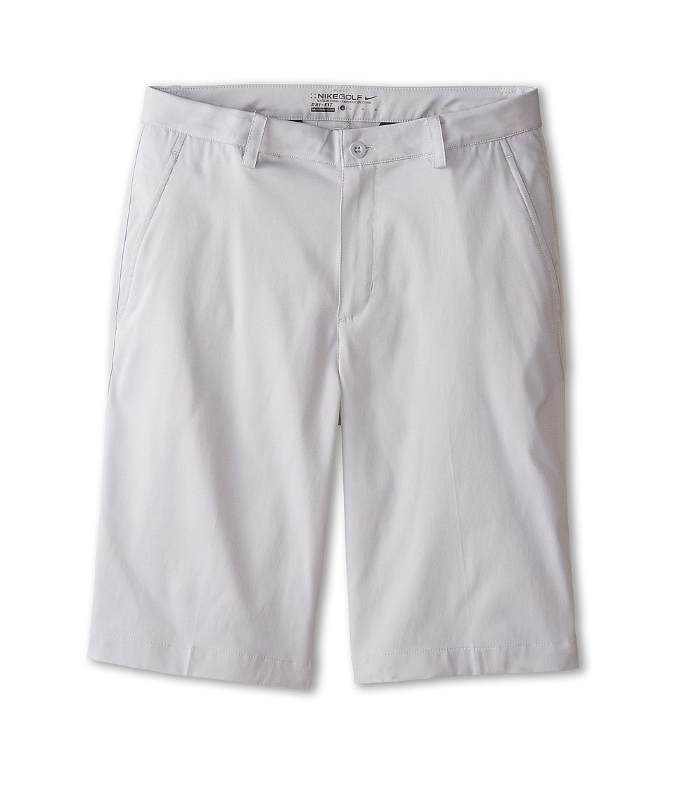 Nike Kids - Flat Front Short (Big Kids) (Wolf Grey/Wolf Grey) Boy's Shorts