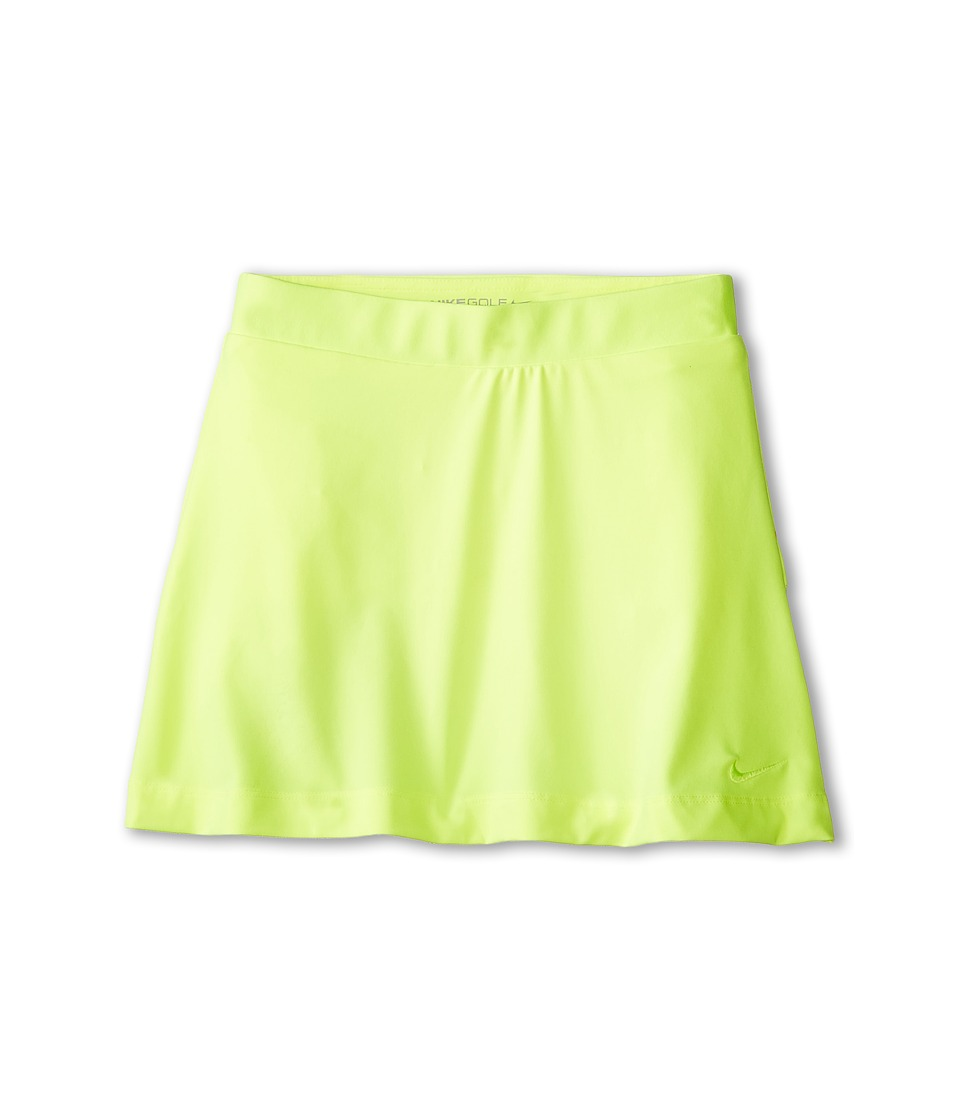 Nike Kids - Dri-Fit Skort (Little Kids/Big Kids) (Volt/Volt) Girl's Skirt