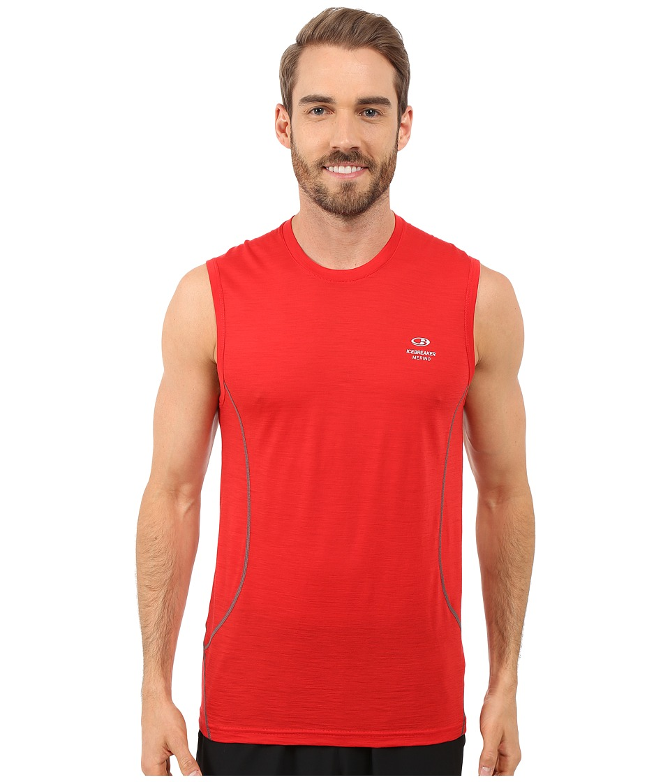Icebreaker - Aero Tank (Rocket/Metal) Men's Sleeveless