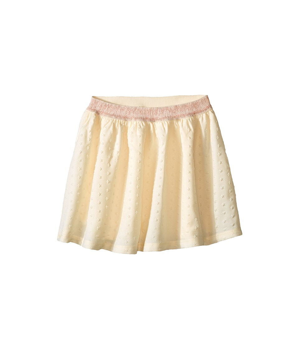 Tommy Hilfiger Kids - Embossed Crepe Skirt (Big Kids) (Frosty Cream) Girl's Skirt