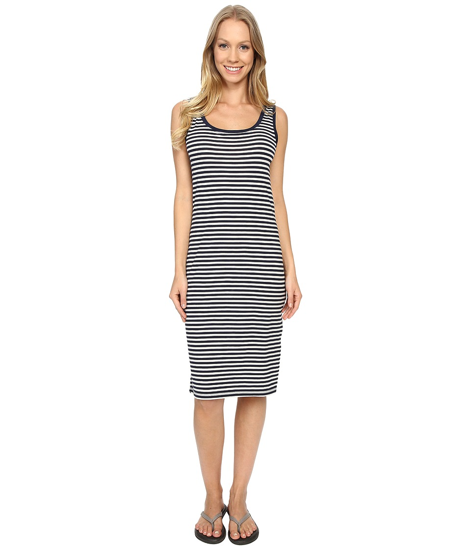 Icebreaker - Tech Lite Tank Dress (Admiral/Snow/Admiral) Women's Dress