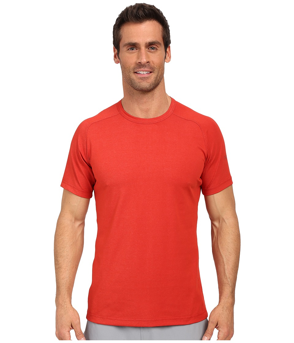 Arc'teryx - Captive T-Shirt (Vermillion) Men's Short Sleeve Pullover