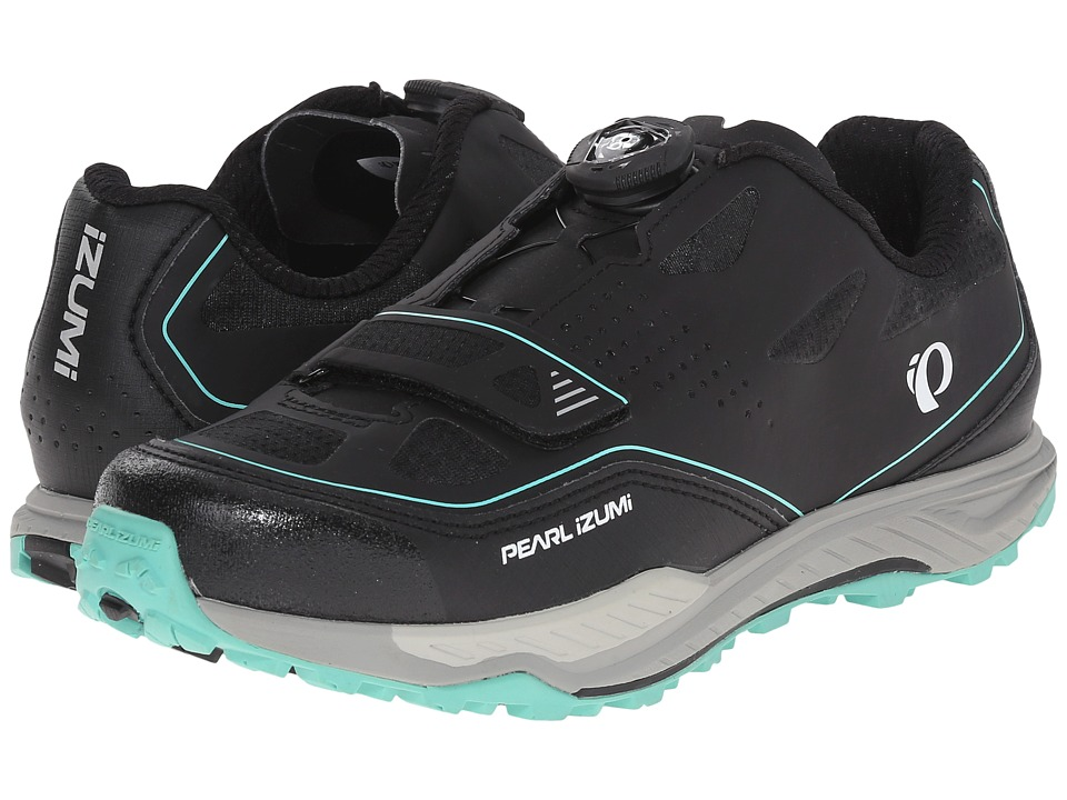 Pearl Izumi - X-Alp Launch II (Black/Shadow Grey) Women's Cycling Shoes