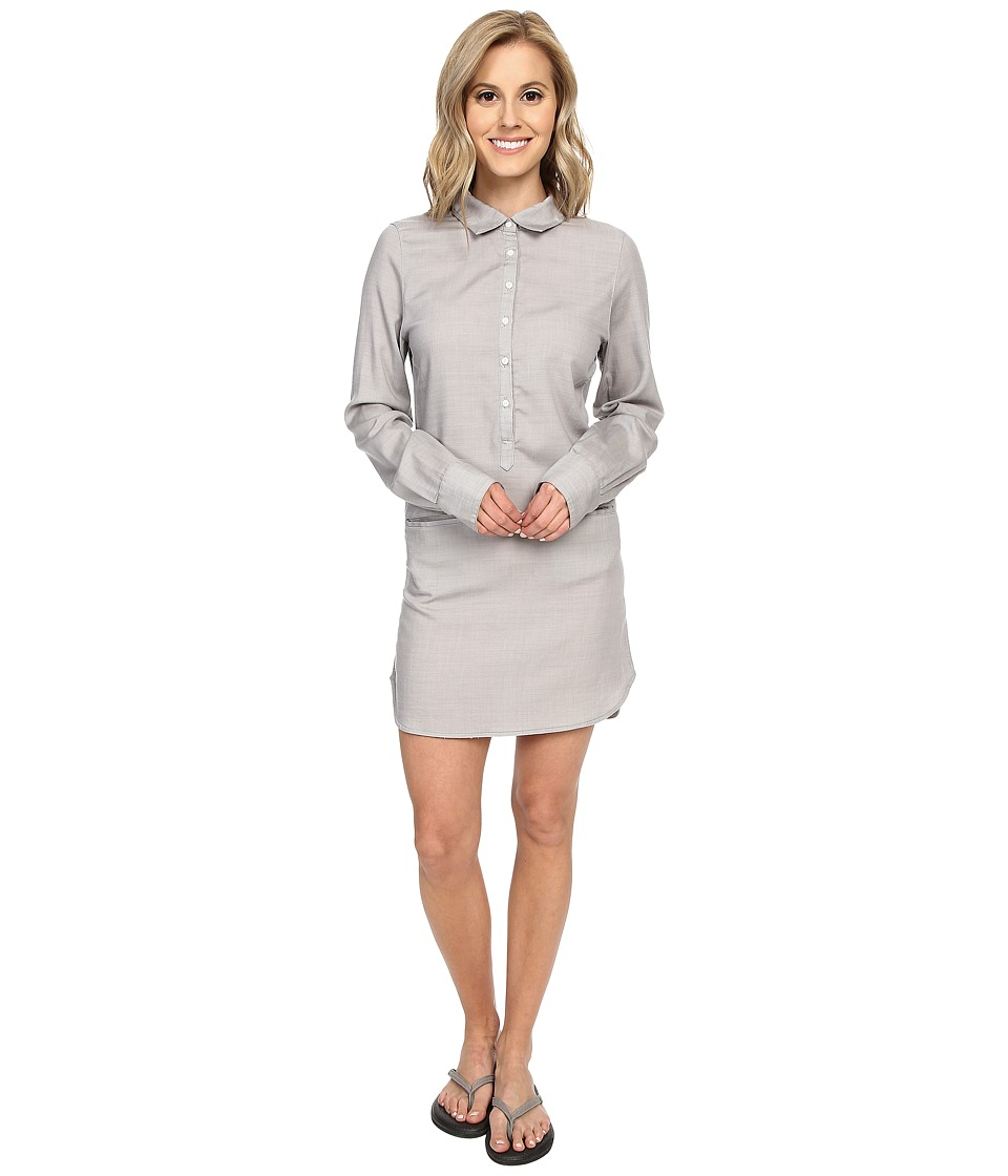 Icebreaker Kala Dress (Metro Heather/Snow) Women