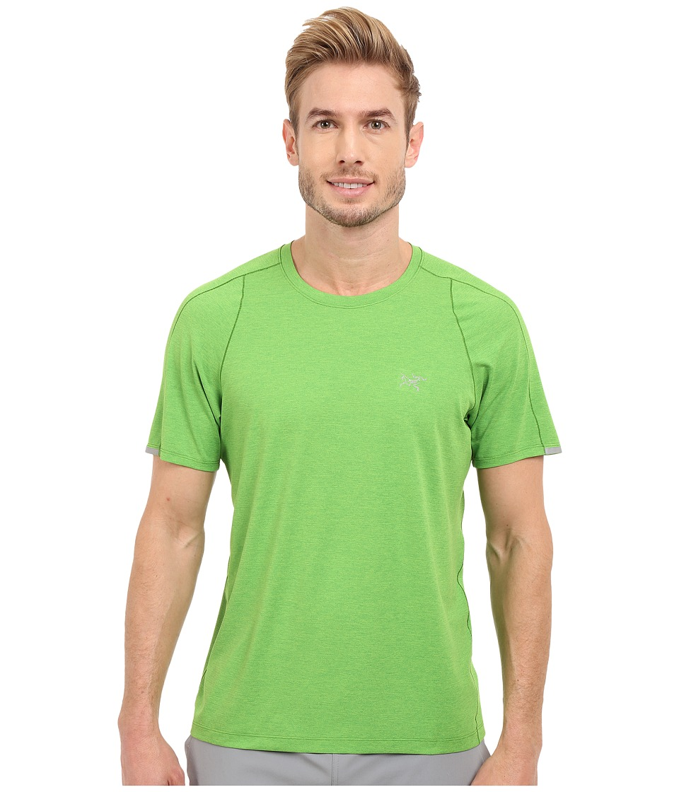 Arc'teryx - Cormac Crew Short Sleeve (Ginko Leaf) Men's Clothing