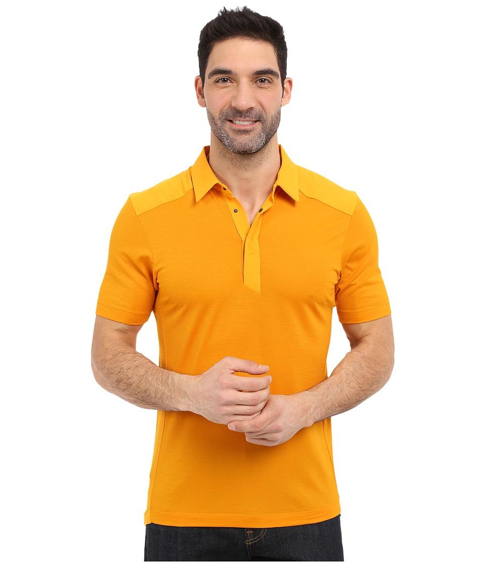 Arc'teryx - A2B Polo Shirt (Aspen) Men's Short Sleeve Pullover
