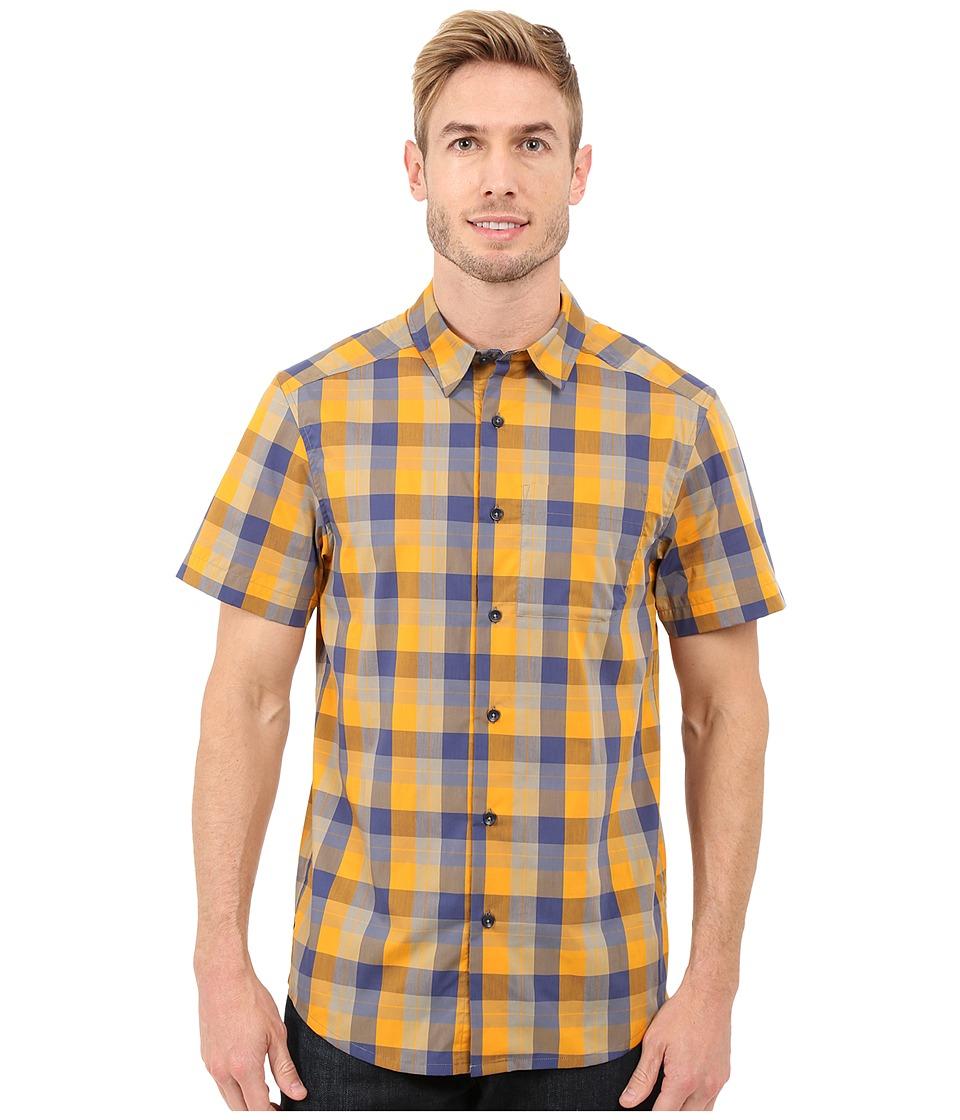 Arc'teryx - Brohm Short Sleeve Shirt (Aspen/Smalt) Men's Clothing