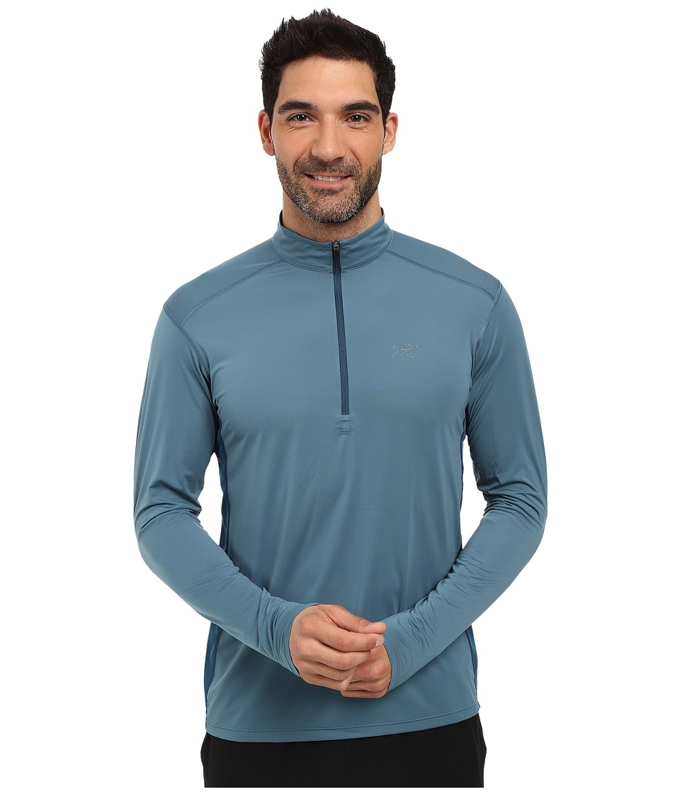 Arc'teryx - Ether Zip Neck L/S (Spyglass) Men's Clothing