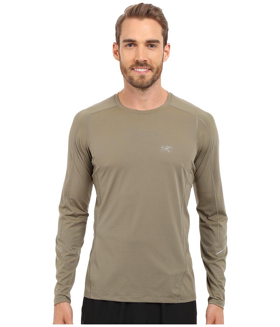 Arc'teryx - Motus Crew Long Sleeve (Pangea) Men's Clothing