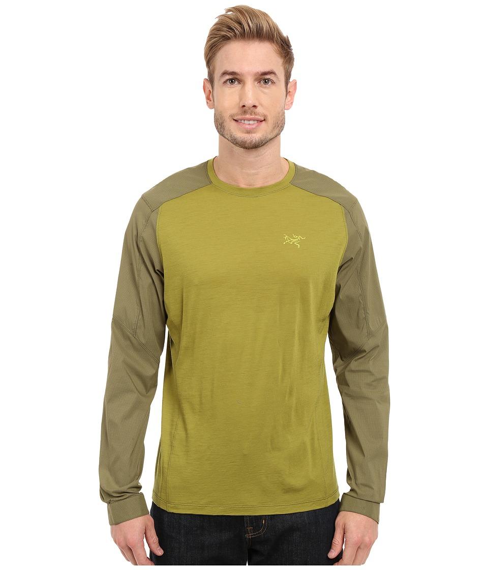 Arc'teryx - Pelion Comp Long Sleeve (Bamboo) Men's Clothing