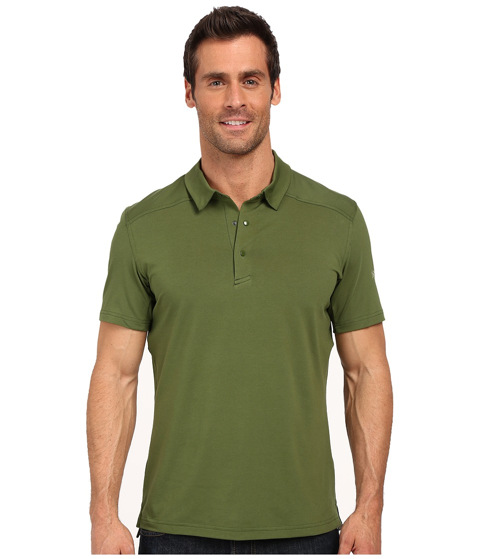 Arc'teryx - Chilco Short Sleeve Polo (Boreal) Men's Short Sleeve Pullover
