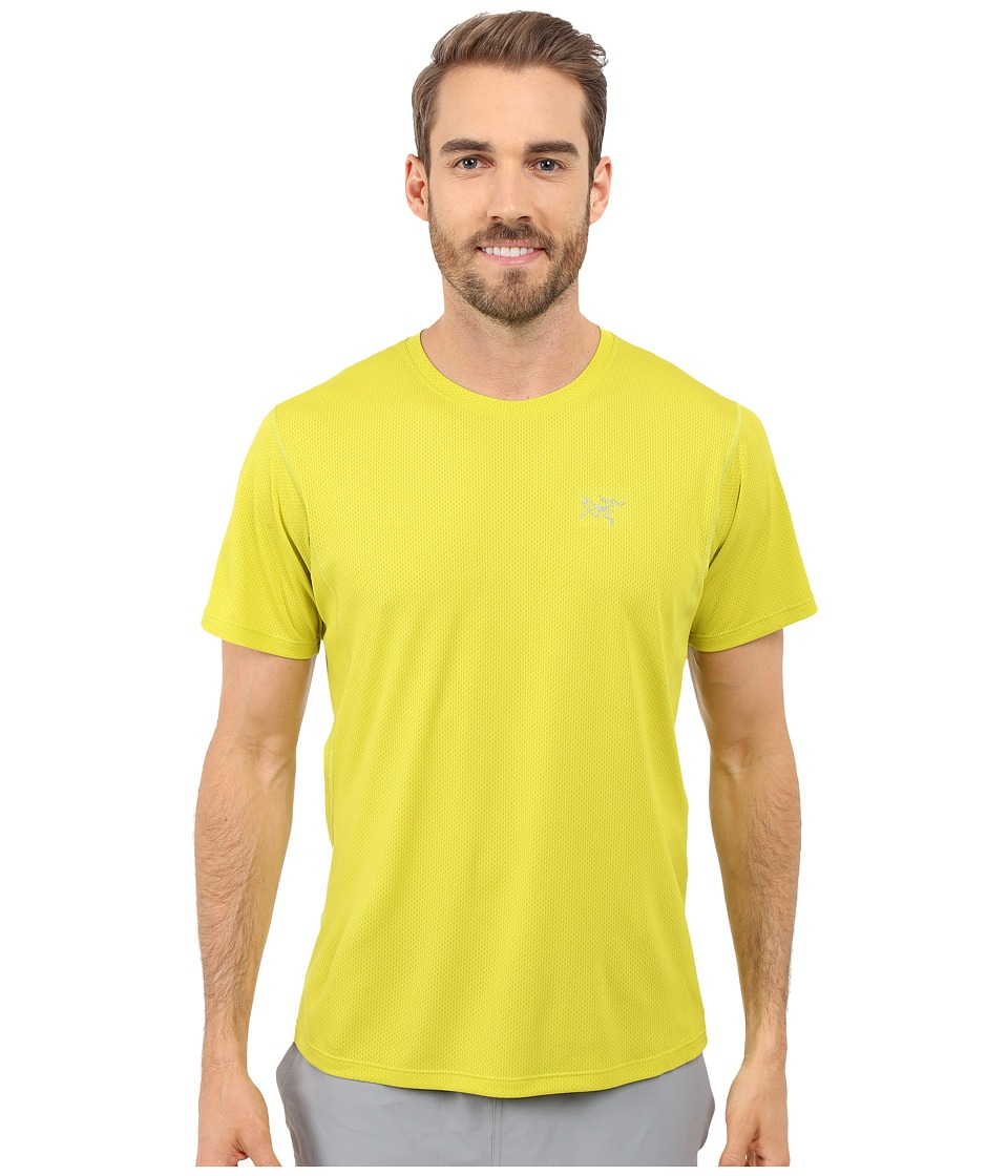 Arc'teryx - Velox Crew Short Sleeve (Genepi Green) Men's Clothing