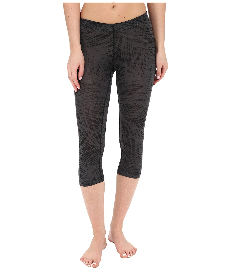 Icebreaker - Sprite 3Q Tights (Monsoon/Black/White) Women's Casual Pants