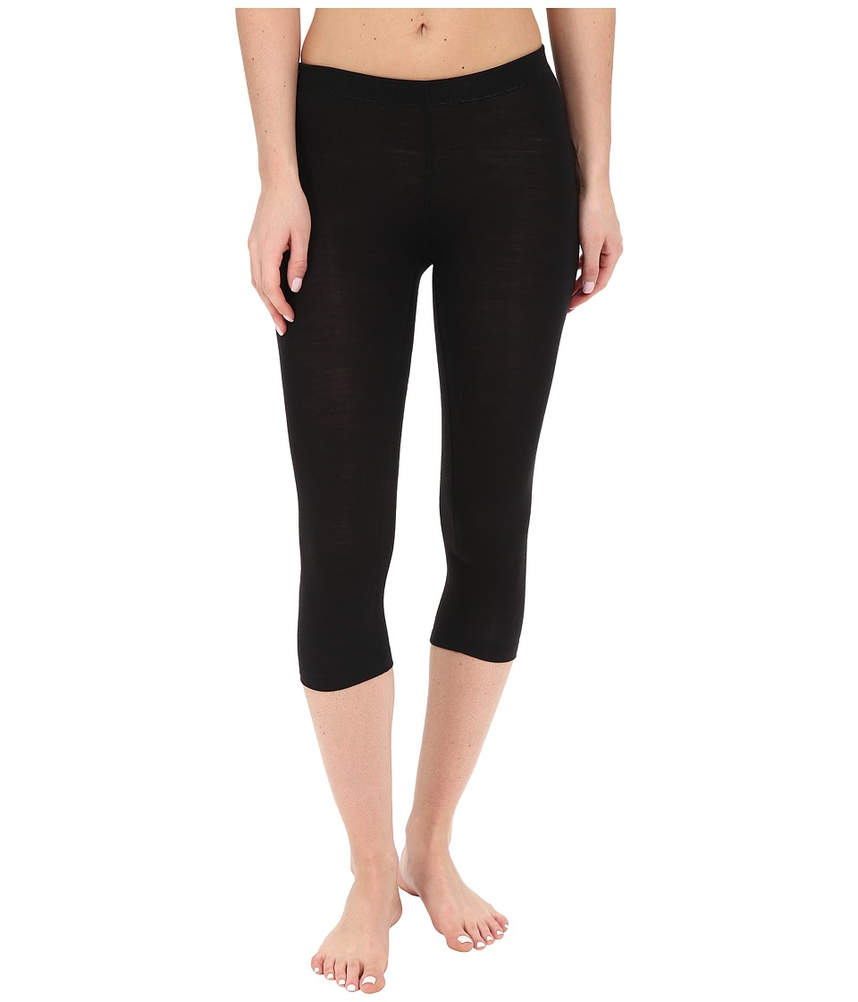 Icebreaker - Sprite 3Q Tights (Black/Black) Women's Casual Pants