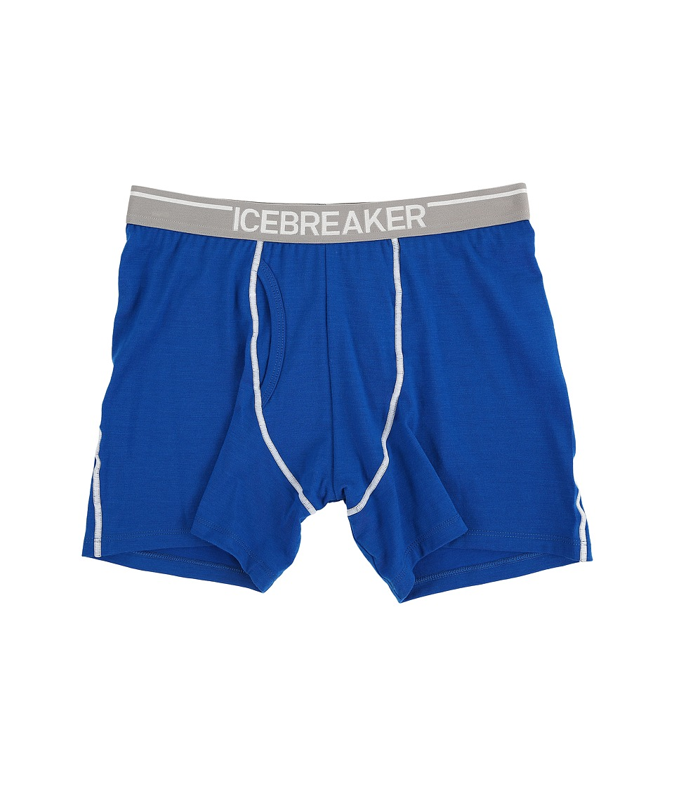 Icebreaker - Anatomica Boxers w/ Fly (Awesome/Lunar) Men's Underwear