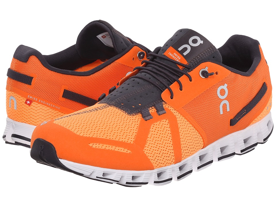 On - Cloud (Orange/Fire) Men's Running Shoes