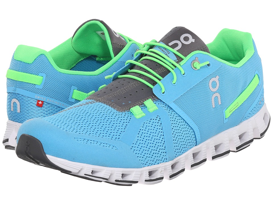 On - Cloud (Diver/Lime) Men's Running Shoes