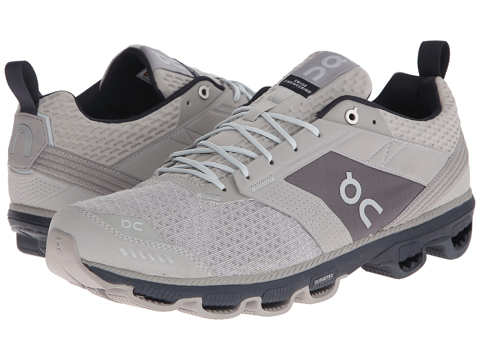 On - Cloudcruiser (Grey/Ink) Men's Shoes